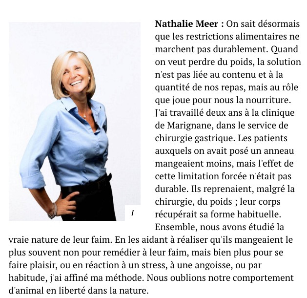 Le Point - 2019 - Nathalie Meer